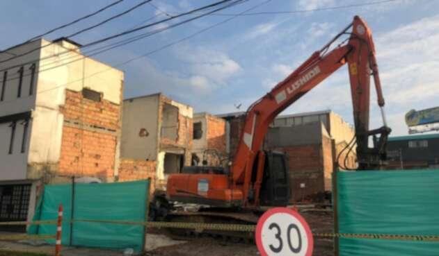Las obras demolidas para darle paso al Metro de Bogotá