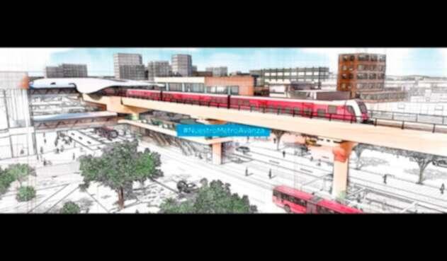 El Metro de Bogotá, en diseño de la Alcaldía de Bogotá