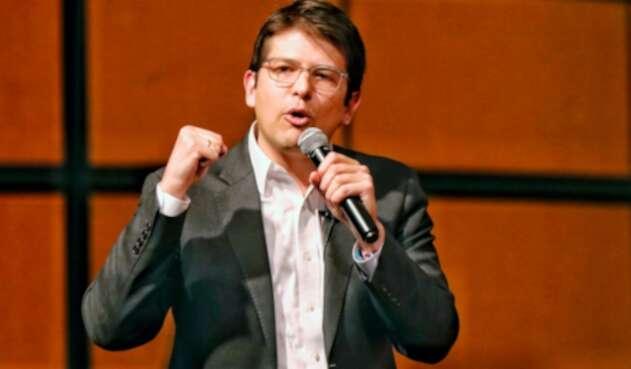 Miguel Uribe Turbay, candidato a la Alcaldía de Bogotá