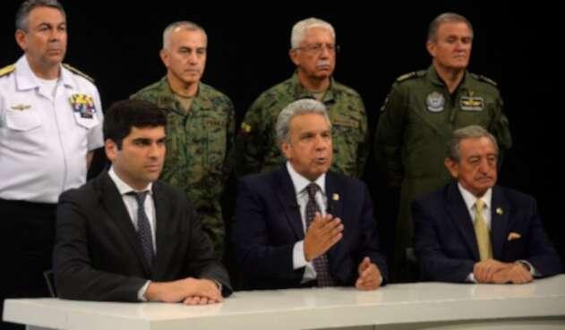 Lenín Moreno hace cambio en su cúpula militar