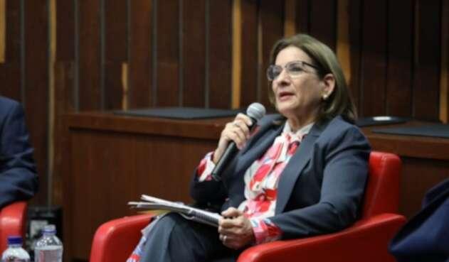 Ministra de Justicia y del Derecho, Margarita Cabello.