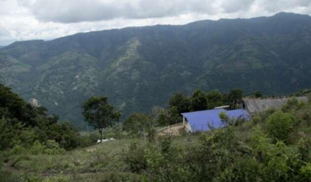 Montebello, en el departamento de Antioquia