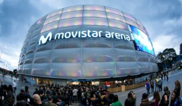 Movistar Arena en Bogotá