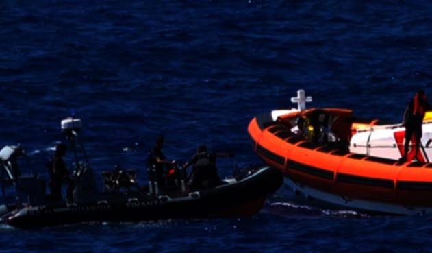 Naufragio de migrantes frente a las costas de Libia