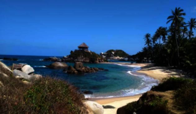 Balnearios y playas del área protegida