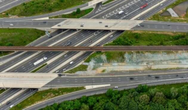 Imagen ilustrativa de una ruta en Estados Unidos