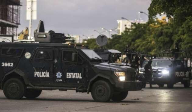 Policía de México hace frente a la ola de violencia en Culiacán