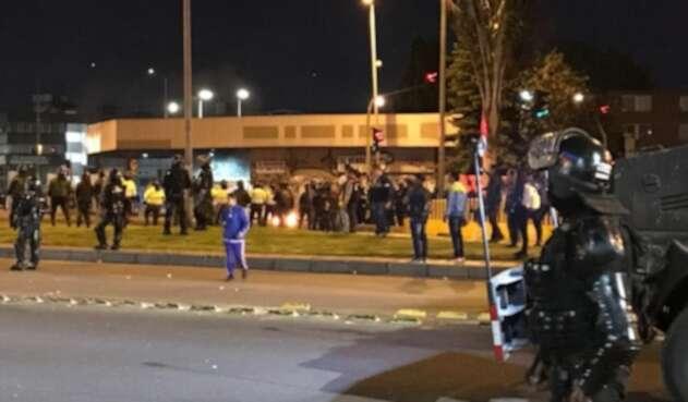 Protestas en Los Héroes