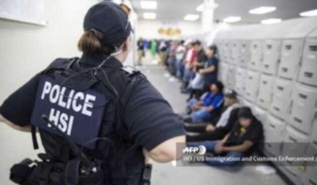 Redadas de inmigrantes en EE.UU.