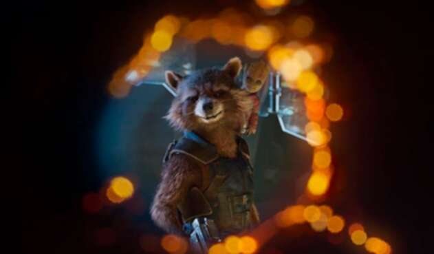 Rocket Racoon, integrante de los Guardianes de la Galaxia