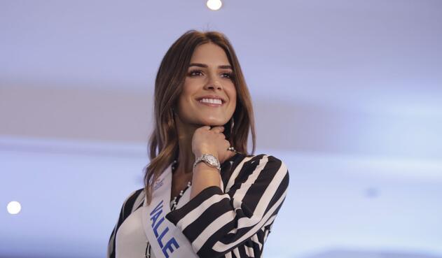 A sus 24 años, Gabriela Tafur, la Señorita Colombia, es reconocida por su carisma y naturalidad.