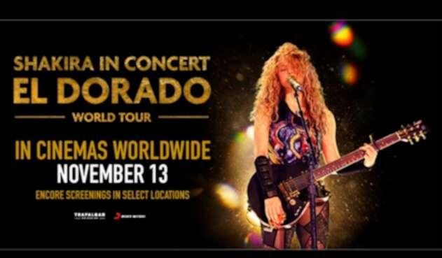 La foto promocional del largometraje de Shakira