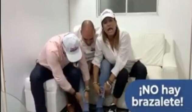 Candidato a la Alcaldía de Bello negó tener brazalete de seguridad