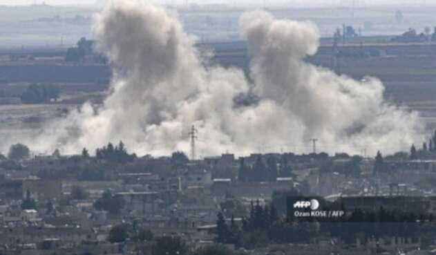 Ataque en ciudad siria de Ras al-Ain