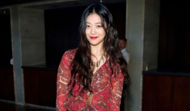 Sulli, actriz y cantante surcoreana fallecida