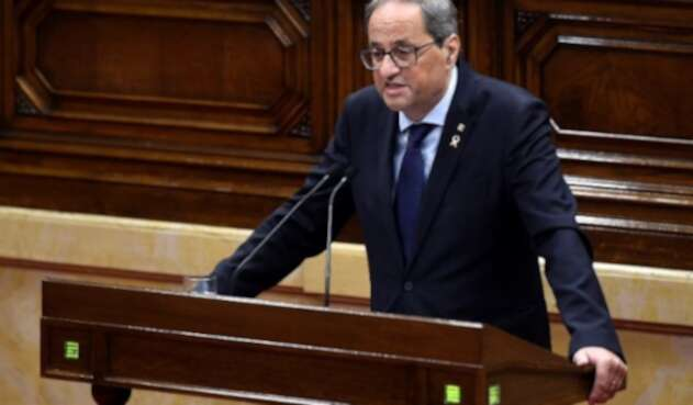 Quim Torra, presidente del gobierno autónomo de Cataluña