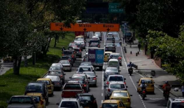 Las congestiones vehiculares en Bogotá