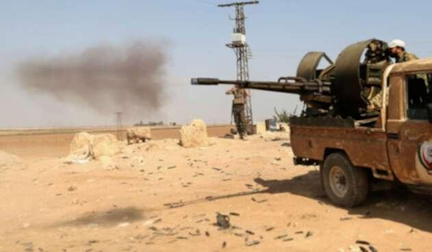 Ataque turco a ciudad Ras al-Ain