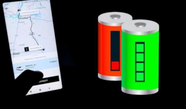 App de transporte y carga de batería