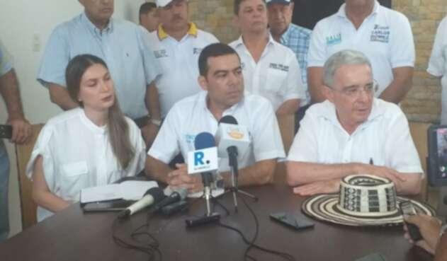 El expresidente estuvo en Montería el pasado viernes