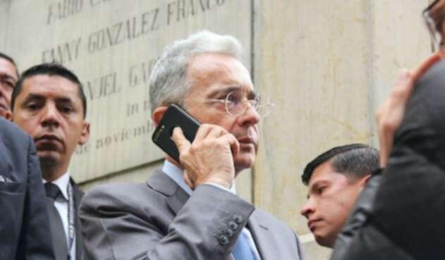 Uribe en la Corte Suprema de Justicia