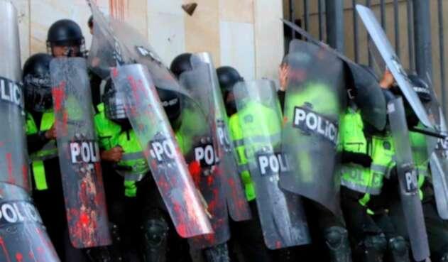 Las imágenes de los desmanes registrados en Bogotá este 10 de octubre de 2019