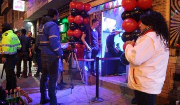 Operativos de control a bares de Soacha