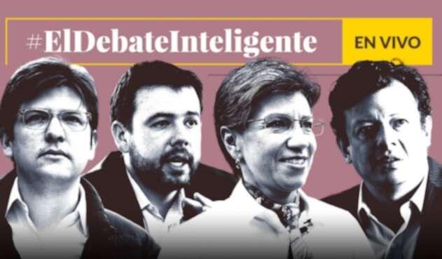 Los candidatos a la Alcaldía de Bogotá que participan en el debate inteligente de LA FM