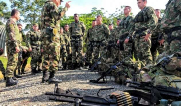 Operaciones militares de la Séptima División del Ejército.