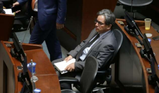Ministro de Hacienda, Alberto Carrasquilla.