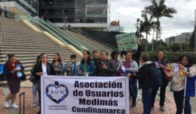 Protesta usuarios Medimás