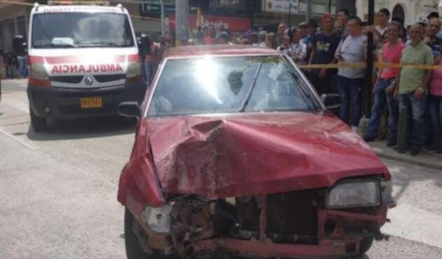 accidente Itagüí