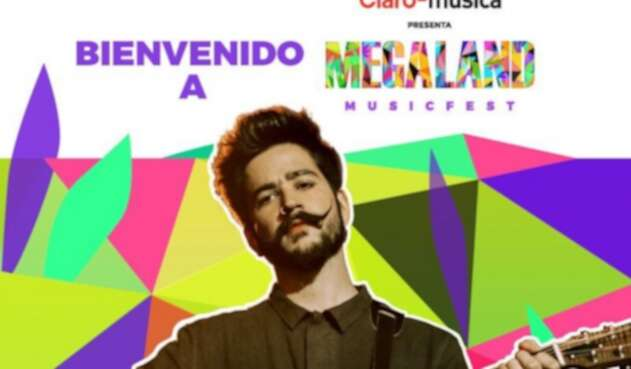 Camilo Echeverry en Megaland 2019