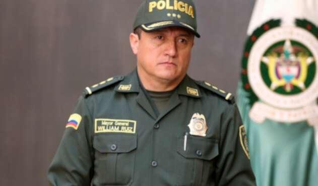 El mayor general William Ernesto Ruiz Garzón, saliente director del Instituto Nacional Penitenciario y Carcelario (Inpec)
