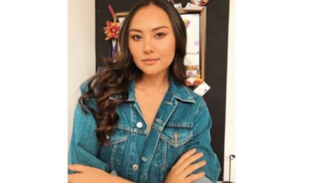 La modelo Yuriko Londoño.