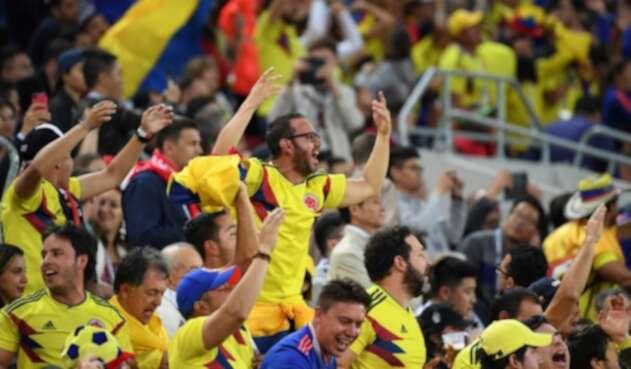 Hinchas de Colombia en el Mundial Rusia 2018