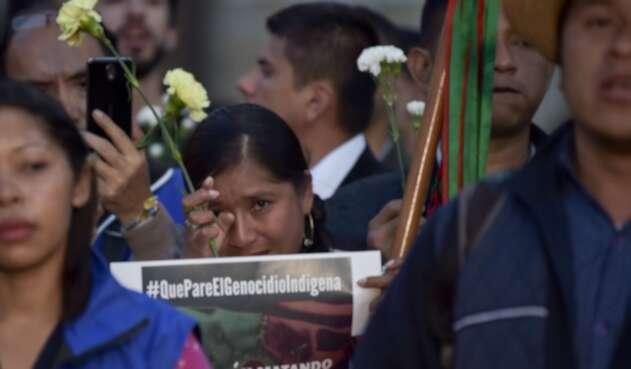 Indígenas rechazan asesinatos de sus líderes