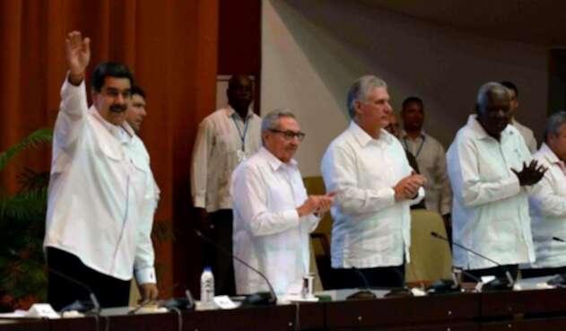 Nicolás Maduro en Cuba