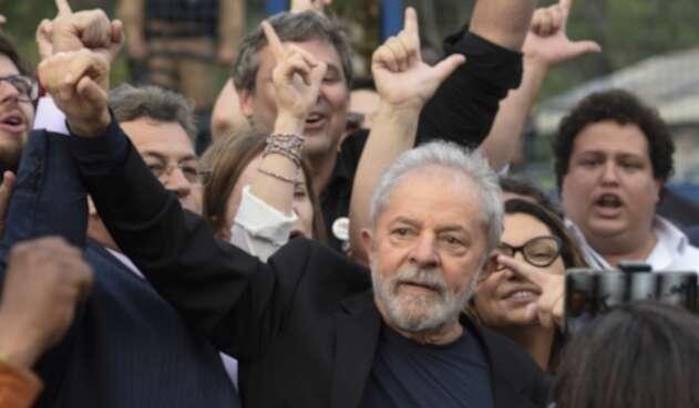 Lula da Silva en libertad