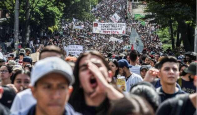 Protestas del 21 de noviembre en Colombia