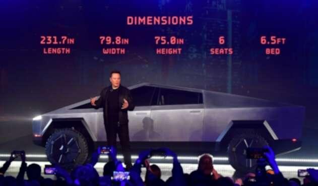 Caminoneta Cybertruck de Tesla