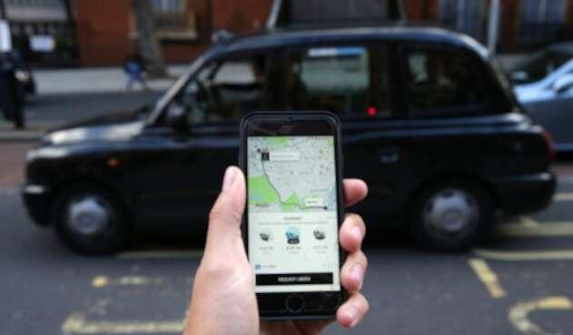 Uber en Londres