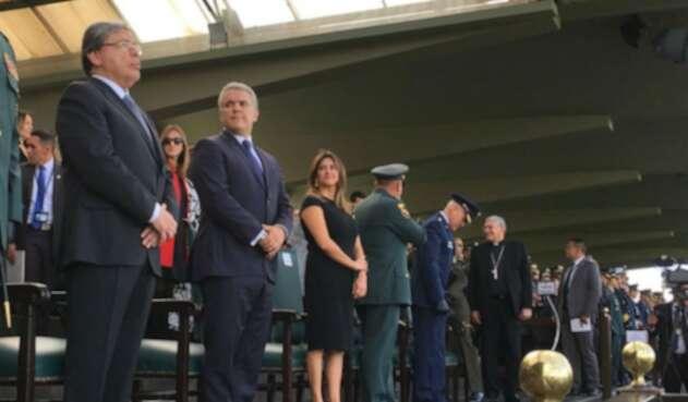 Ceremonia oficial de posesión de Carlos Holmes Trujillo como nuevo Mindefensa