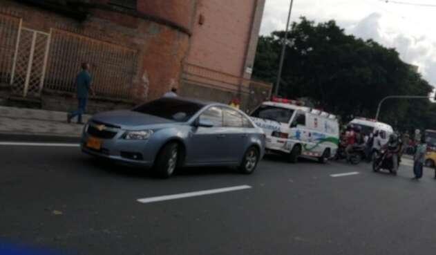 Accidente de tránsito - archivo ciudadano