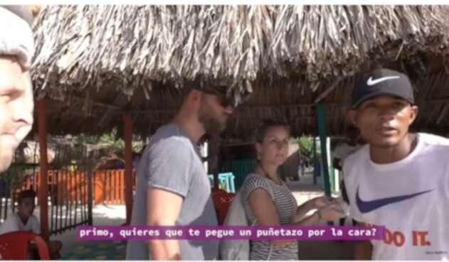 El abuso a los turistas fue cometido en Cartagena.