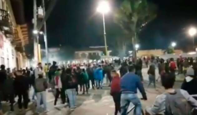 Alcaldía de Facatativá en jornada de protestas