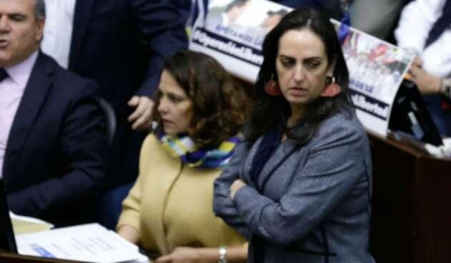 María Fernanda Cabal en el Congreso