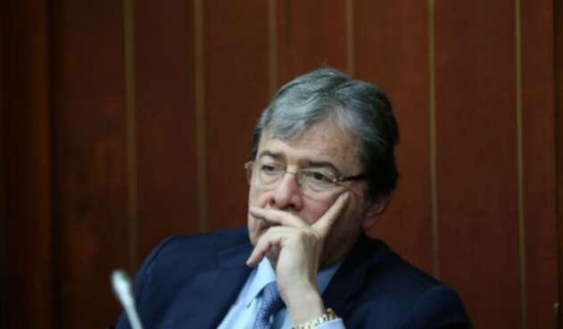 Carlos Holmes Trujillo, ministro de Relaciones Exteriores