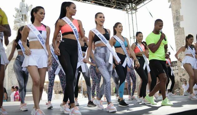 Candidatas a Señorita Colombia 2020