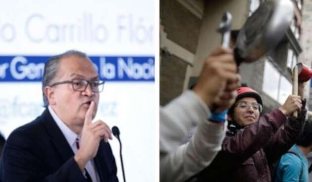El procurador Carrillo se pronunció sobre la idea de una Constituyente.